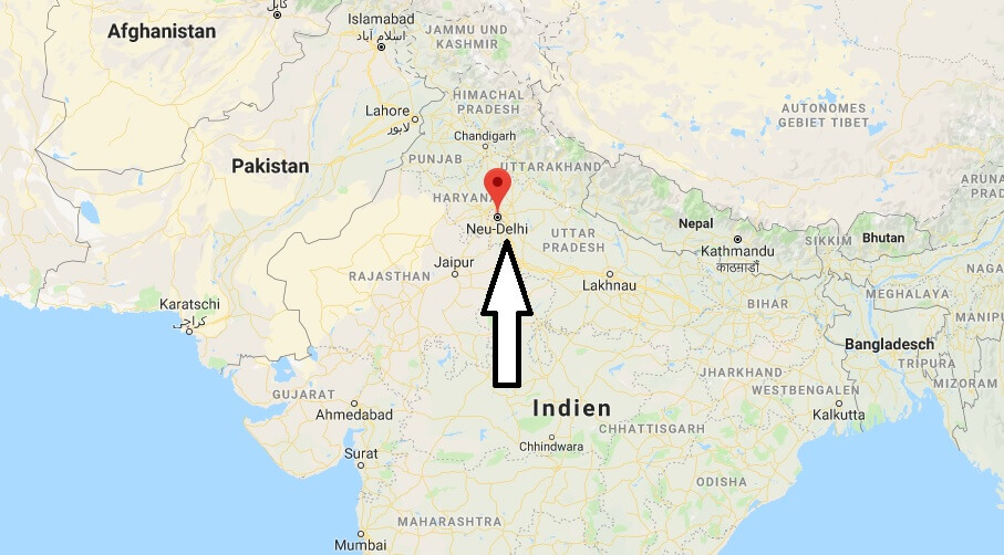 Wo liegt Neu Delhi? Wo ist Neu Delhi? in welchem land liegt Neu Delhi