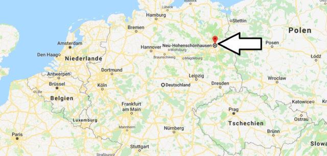 Wo liegt Neu-Hohenschönhausen? Wo ist Neu-Hohenschönhausen? in welchem Land