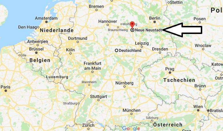 Wo liegt Neue Neustadt? Wo ist Neue Neustadt
