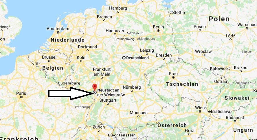 Wo liegt Neustadt an der Weinstraße? Wo ist Neustadt an der Weinstraße? in welchem Land