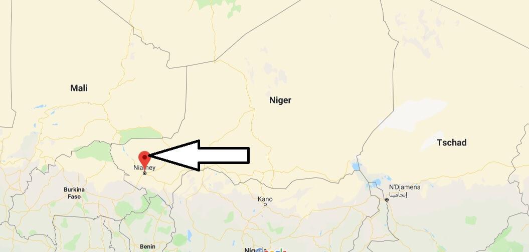 Wo liegt Niamey? Wo ist Niamey? in welchem land liegt Niamey