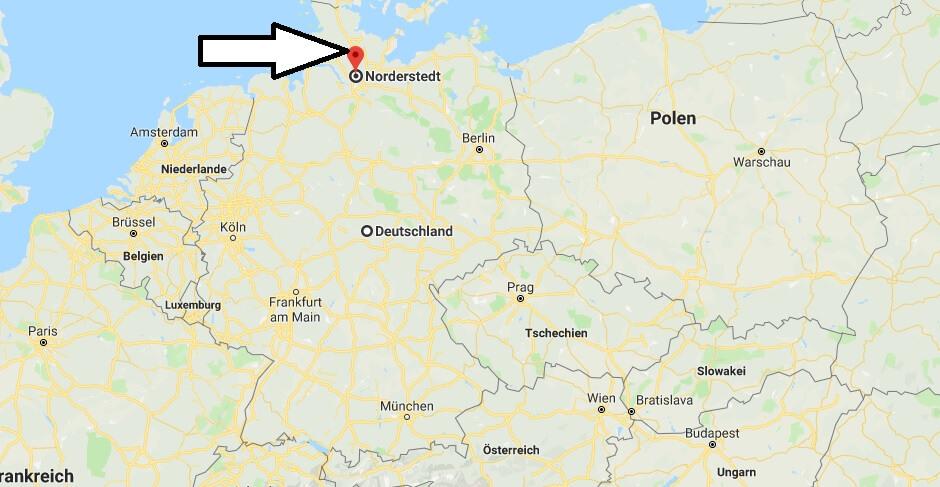 Wo liegt Norderstedt? Wo ist Norderstedt? in welchem Land