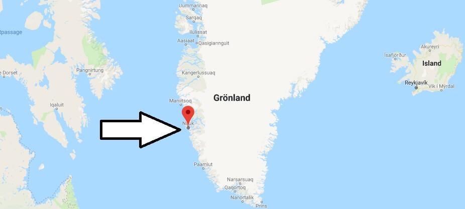 Wo liegt Nuuk? Wo ist Nuuk? in welchem land liegt Nuuk
