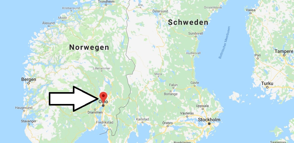 Wo liegt Oslo? Wo ist Oslo? in welchem land liegt Oslo