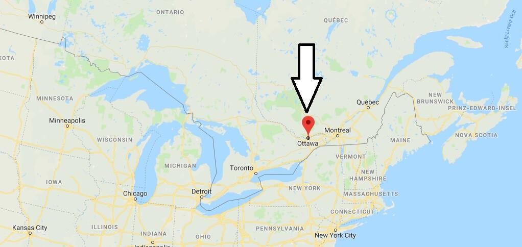 Wo liegt Ottawa Wo ist Ottawa in welchem land liegt Ottawa