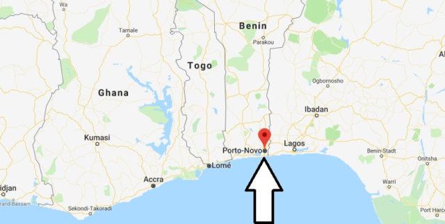 Wo liegt Porto-Novo - Wo ist Porto-Novo - in welchem land liegt Porto-Novo