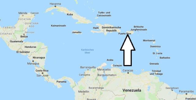Wo liegt Puerto Rico? Wo ist Puerto Rico? in welchem Land? Welcher Kontinent ist Puerto Rico?