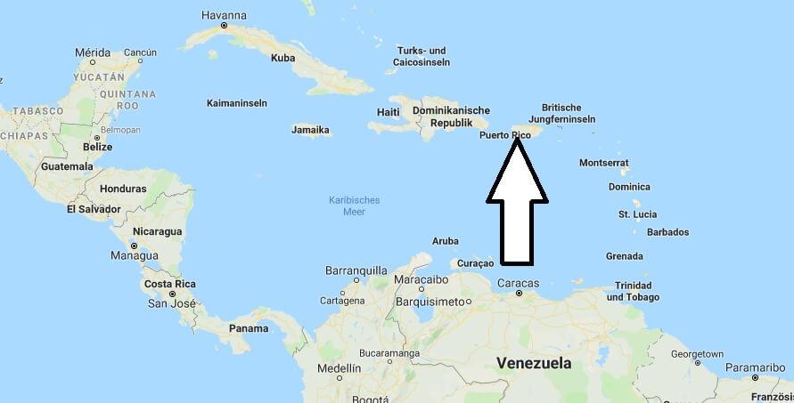 Wo Liegt Puerto Rico Wo Ist Puerto Rico In Welchem Land Welcher