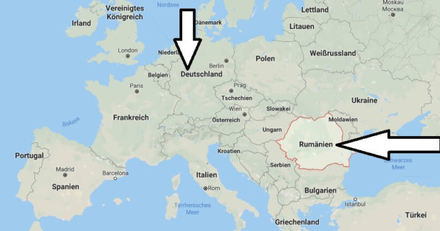 Wo liegt Rumänien - Wo ist Rumänien - in welchem Land - Welcher Kontinent ist Rumänien