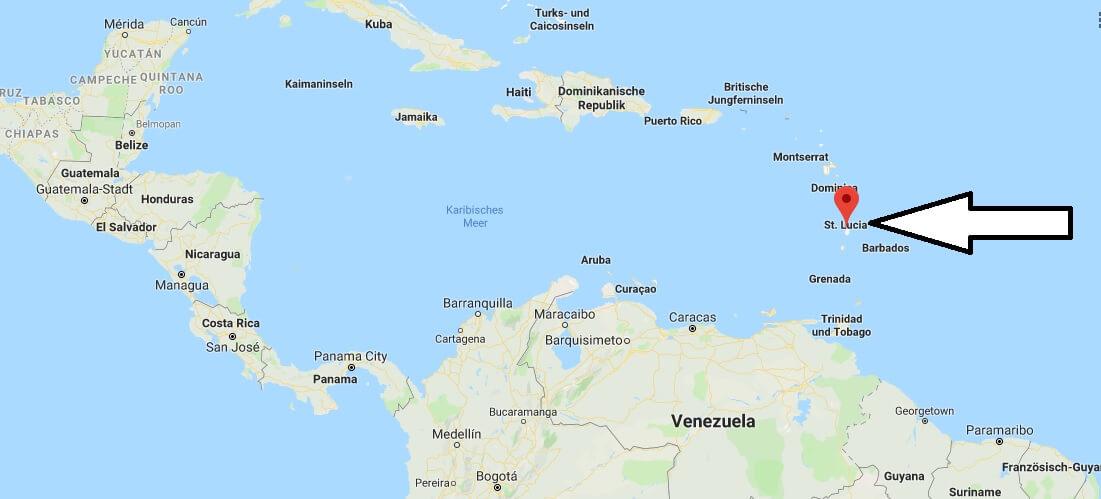 Wo liegt Saint Lucia? Wo ist Saint Lucia? in welchem Land? Welcher Kontinent ist Saint Lucia?