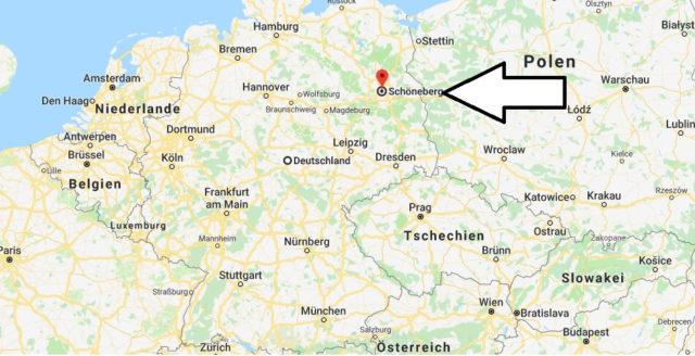 Wo liegt Schöneberg? Wo ist Schöneberg