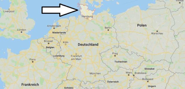 Wo liegt Schleswig-Holstein? Wo ist Schleswig-Holstein