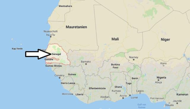 Wo liegt Senegal? Wo ist Senegal? in welchem Land? Welcher Kontinent ist Senegal?