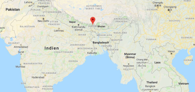 Wo liegt Sikkim? Wo ist Sikkim? in welchem Land? Welcher Kontinent ist Sikkim?