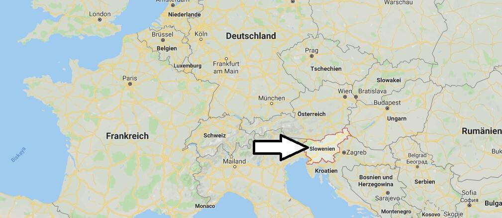 Wo liegt Slowenien? Wo ist Slowenien? in welchem Land? Welcher Kontinent ist Slowenien?