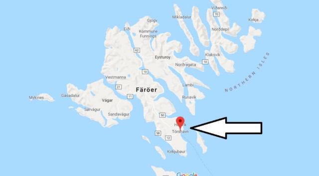 Wo liegt Tórshavn? Wo ist Tórshavn? in welchem land liegt Tórshavn