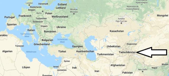 Wo liegt Tadschikistan? Wo ist Tadschikistan? in welchem Land? Welcher Kontinent ist Tadschikistan?