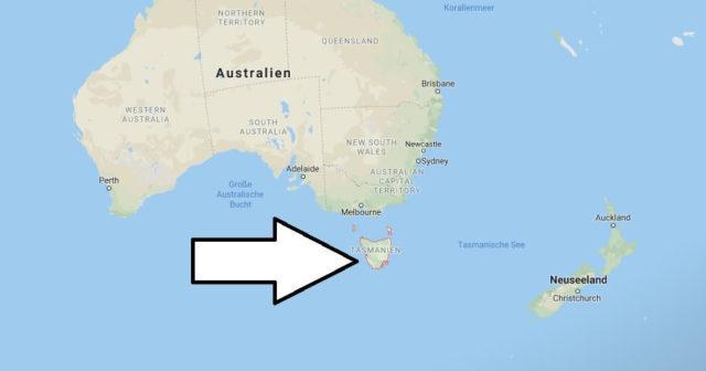 Wo liegt Tasmanien? Wo ist Tasmanien? in welchem Land? Welcher Kontinent ist Tasmanien?
