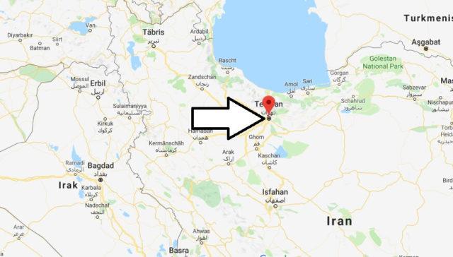 Wo liegt Teheran? Wo ist Teheran? in welchem land liegt Teheran