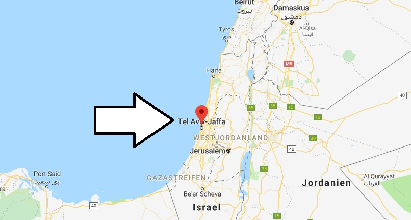 Wo liegt Tel Aviv? Wo ist Tel Aviv? in welchem land liegt Tel Aviv