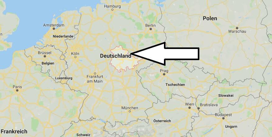 Wo liegt Thüringen? Wo ist Thüringen