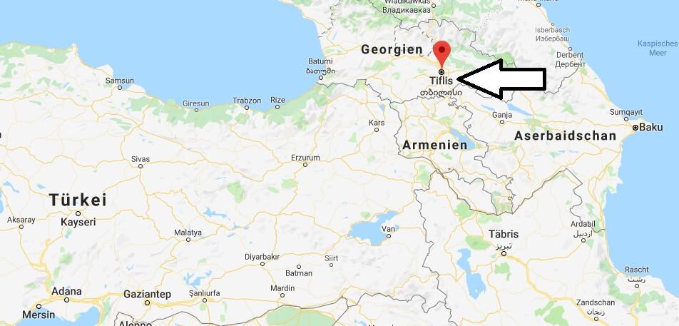 Wo liegt Tiflis? Wo ist Tiflis? in welchem land liegt Tiflis