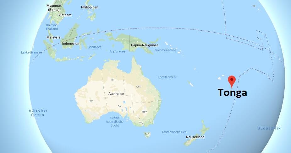 Wo liegt Tonga? Wo ist Tonga? in welchem Land? Welcher Kontinent ist Tonga?