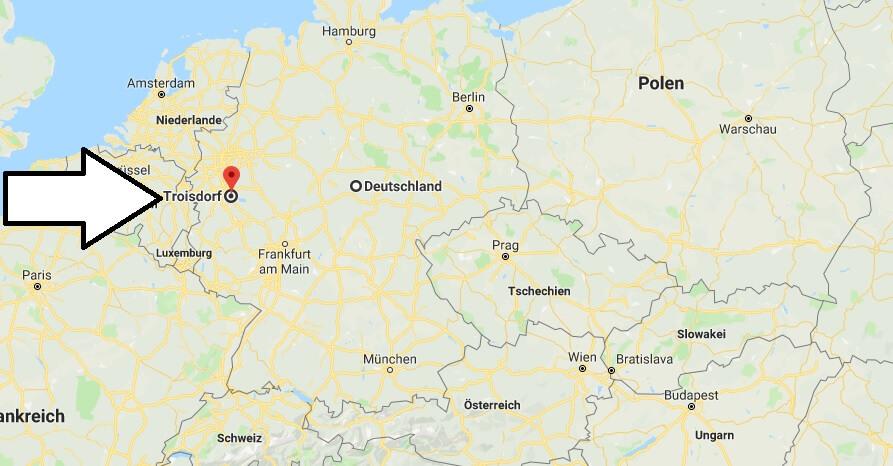 Wo liegt Troisdorf? Wo ist Troisdorf? in welchem Land