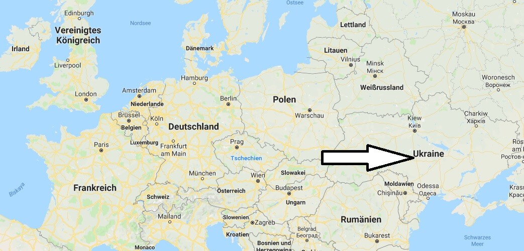 Wo liegt Ukraine? Wo ist Ukraine? in welchem Land? Welcher Kontinent ist Ukraine?
