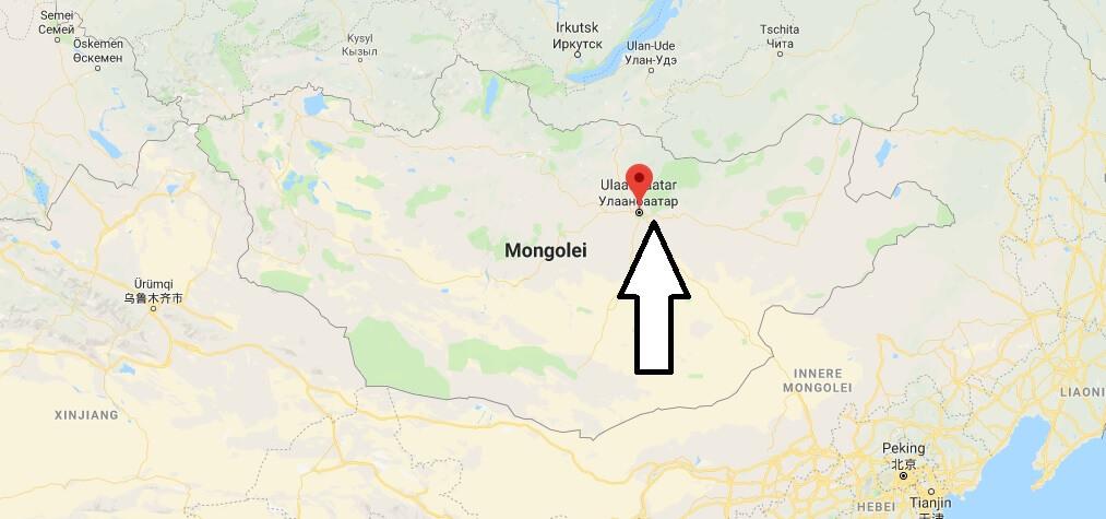 Wo liegt Ulaanbaatar? Wo ist Ulaanbaatar? in welchem land liegt Ulaanbaatar