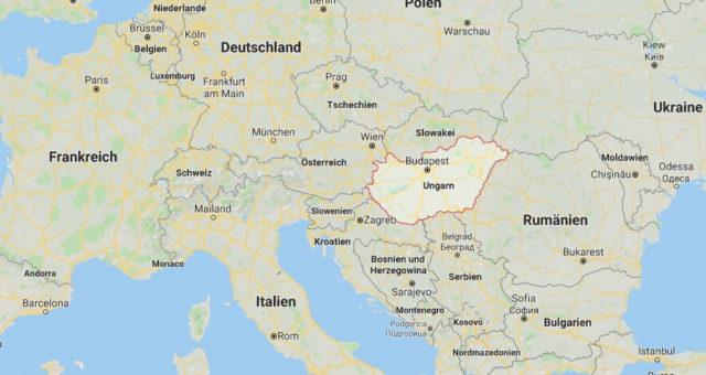 Wo liegt Ungarn? Wo ist Ungarn? in welchem Land? Welcher Kontinent ist Ungarn?