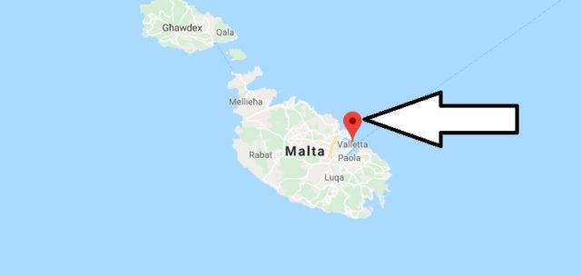 Wo liegt Valletta? Wo ist Valletta? in welchem land liegt Valletta