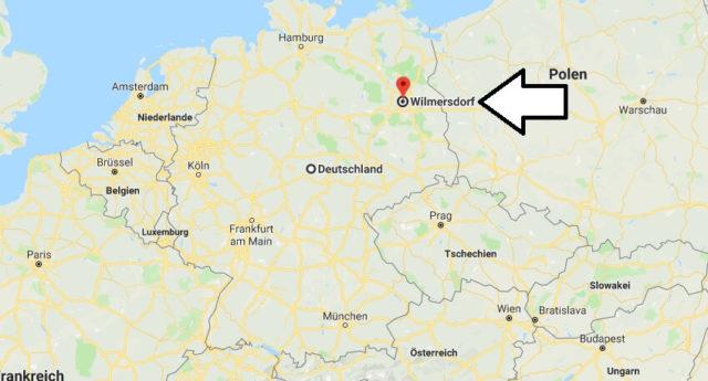 Wo liegt Wilmersdorf? Wo ist Wilmersdorf