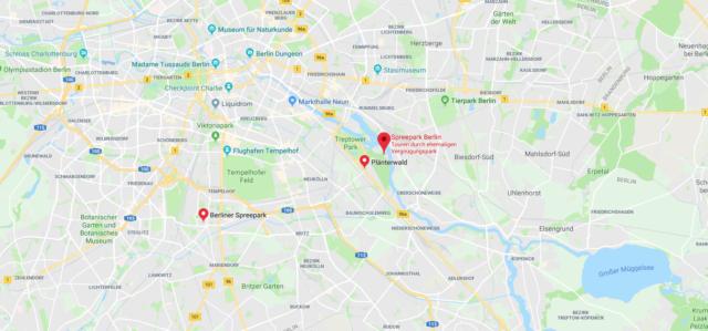 Wo ist der Spreepark Berlin? Wo liegt Spreepark