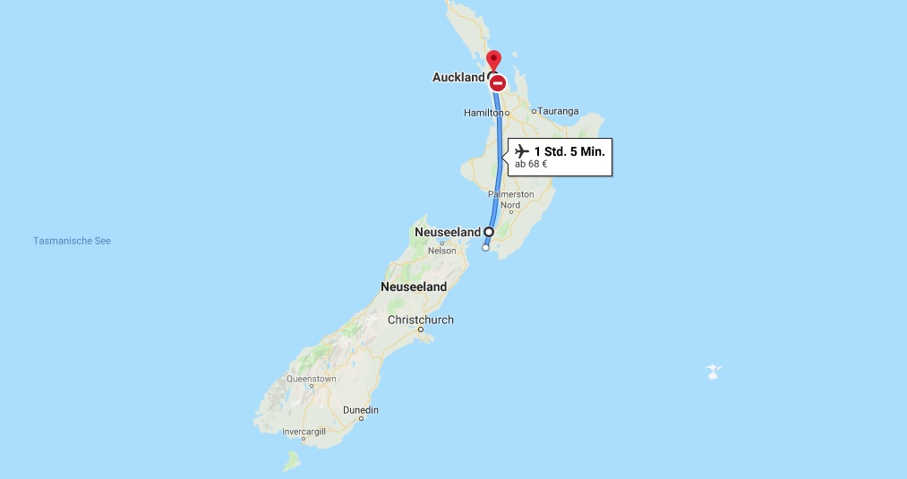 Wo liegt Auckland in Neuseeland - Wo ist Auckland