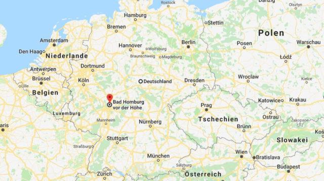 Wo liegt Bad Homburg vor der Höhe? Wo ist Bad Homburg vor der Höhe? in welchem Land