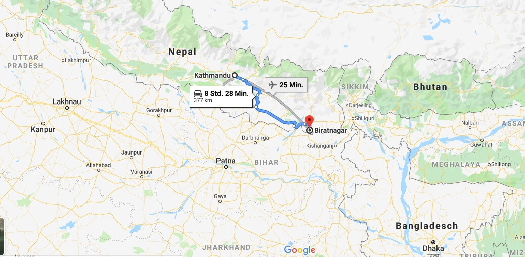 Wo liegt Biratnagar? Wo ist Biratnagar? in welchem land liegt Biratnagar