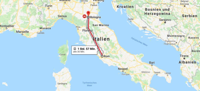 Wo liegt Bologna? Wo ist Bologna? in welchem land liegt Bologna