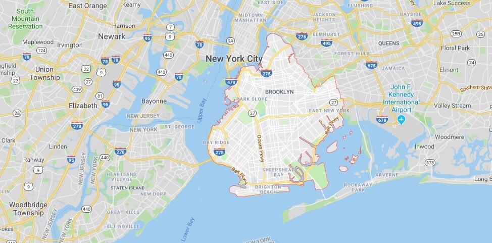 Wo liegt Brooklyn? Wo ist Brooklyn? in welchem land liegt Brooklyn