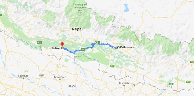 Wo liegt Butwal? Wo ist Butwal? in welchem land liegt Butwal