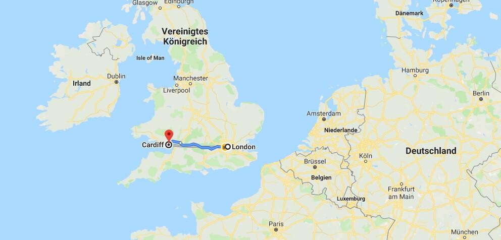 Wo liegt Cardiff? Wo ist Cardiff? in welchem land liegt Cardiff