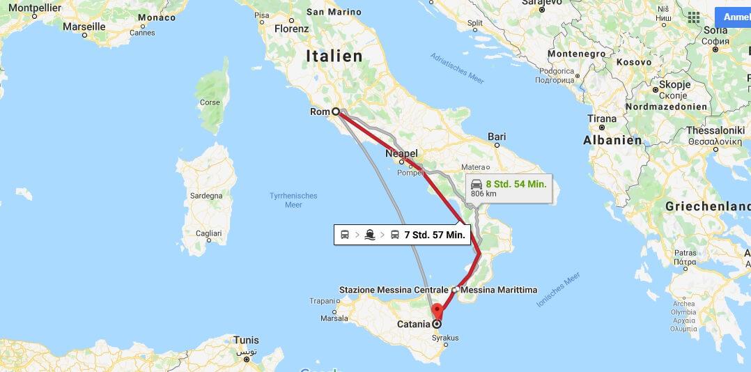 Wo liegt Catania? Wo ist Catania? in welchem land liegt Catania
