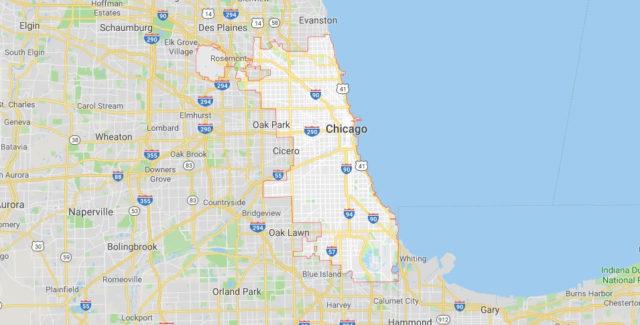 Wo liegt Chicago? Wo ist Chicago? in welchem land liegt Chicago