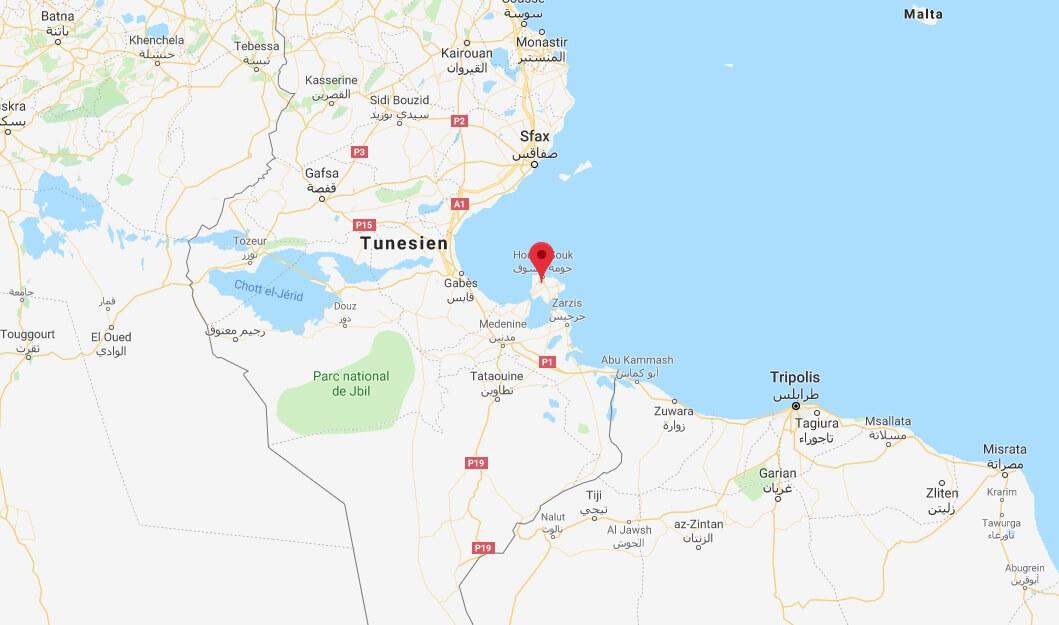 Wo liegt Djerba? Wo ist Djerba