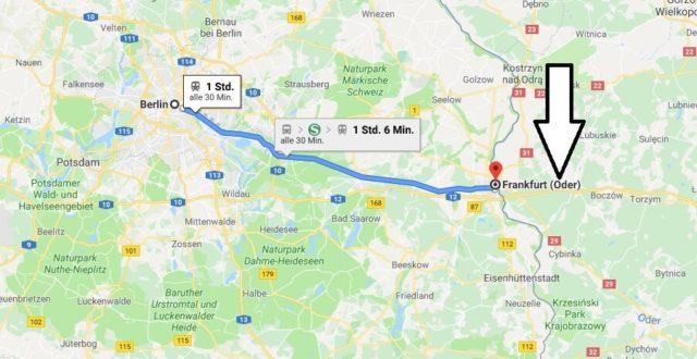 Wo liegt Frankfurt (Oder)? Wo ist Frankfurt (Oder)? in welchem Land