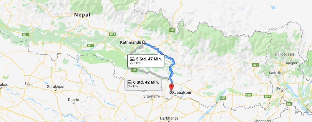 Wo liegt Janakpur? Wo ist Janakpur? in welchem land liegt Janakpur
