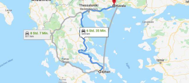 Wo liegt Kavala? Wo ist Kavala? in welchem land liegt Kavala