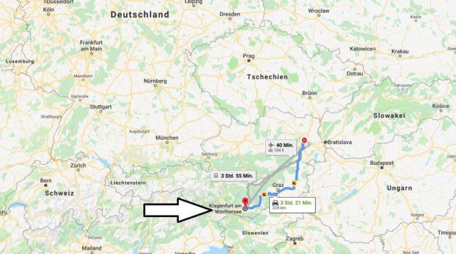 Wo liegt Klagenfurt Am Woerthersee? Wo ist Klagenfurt Am Woerthersee? in welchem land liegt Klagenfurt Am Woerthersee