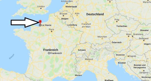 Wo liegt Le Havre? Wo ist Le Havre? in welchem land liegt Le Havre
