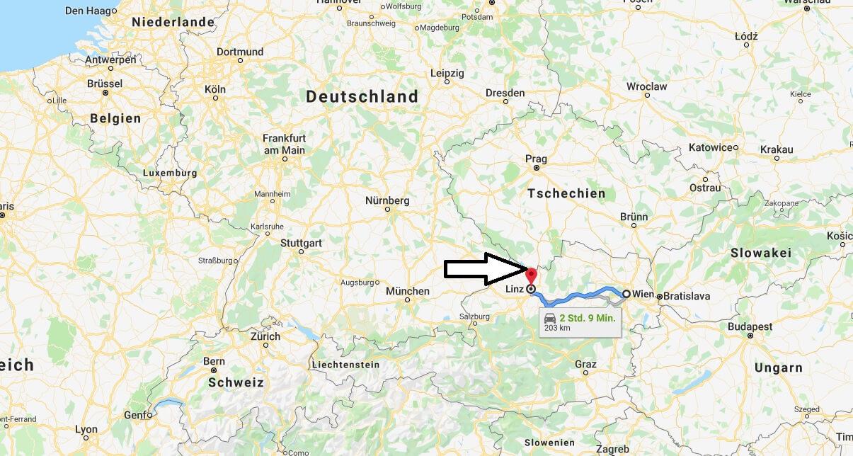 Wo liegt Linz? Wo ist Linz? in welchem land liegt Linz